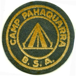 Phaquarra Early Felt Round Patch